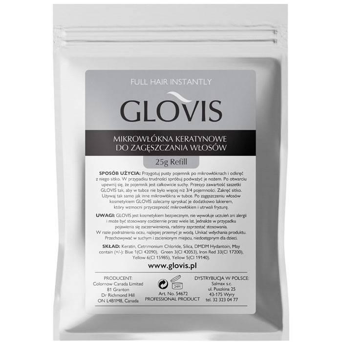 Mikrowłókna do włosów - Saszetka Glovis 25g